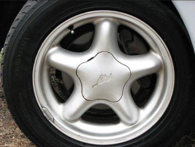 96 Mustang 5 spoke Wheels