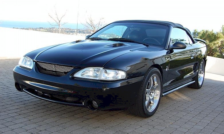 Black 96 Cobra Convertible