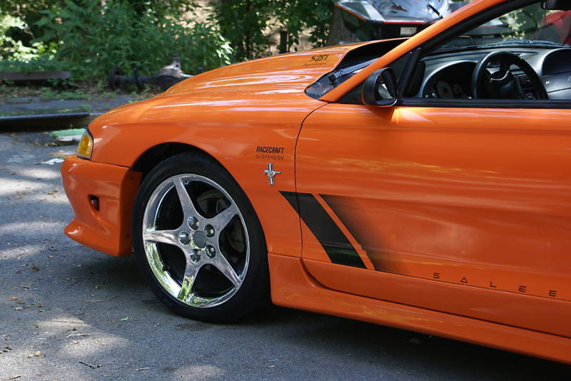 Bright Tangerine 96 Saleen