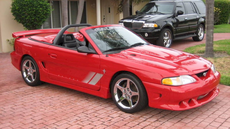 rio red 1996 saleen s351 ford mustang convertible. Black Bedroom Furniture Sets. Home Design Ideas