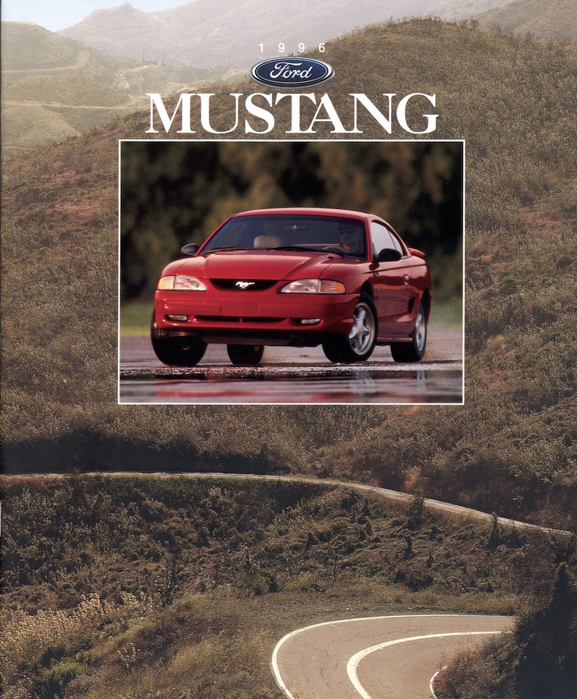 Ford 1996 Mustang Sales Brochure 1964 Brochures Are Presented For Research Use Only Company Marks Emblems And Designs Trademarks Or Service Of