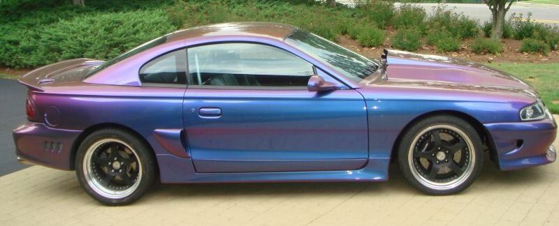 Customized 1997 Mustang Cobra