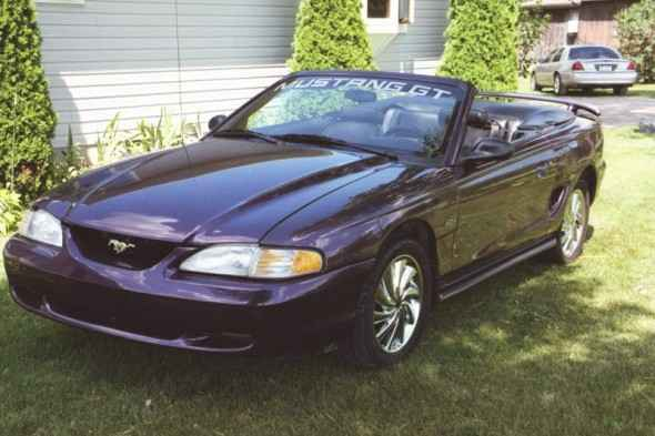 Thistle 1997 Mustang GT Convertible