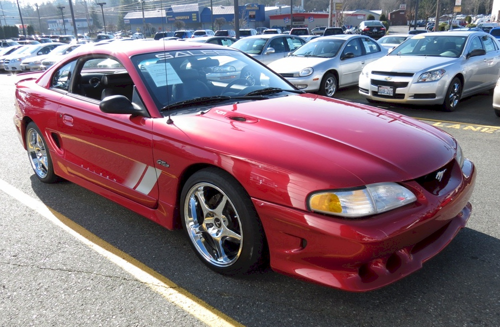 laser red 1997 saleen s281 ford mustang coupe. Black Bedroom Furniture Sets. Home Design Ideas