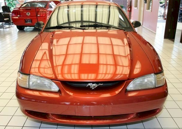 Autumn Orange 1997 Mustang GT Coupe