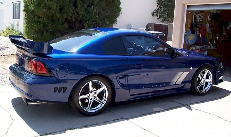 moonlight blue 1997 saleen s351 ford mustang coupe. Black Bedroom Furniture Sets. Home Design Ideas