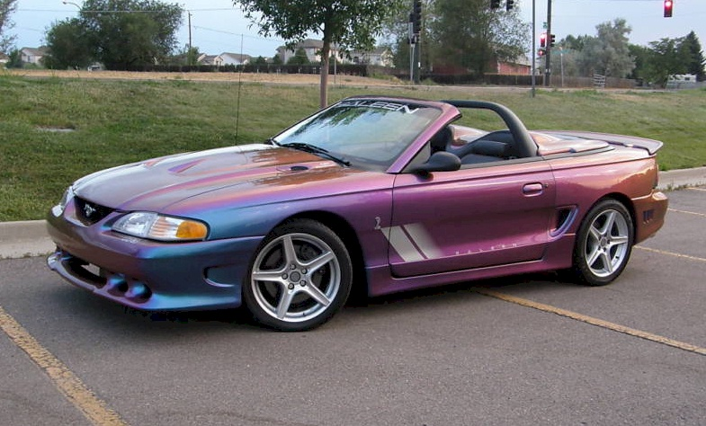 extreme rainbow purple 1997 saleen s281 cobra ford mustang. Black Bedroom Furniture Sets. Home Design Ideas