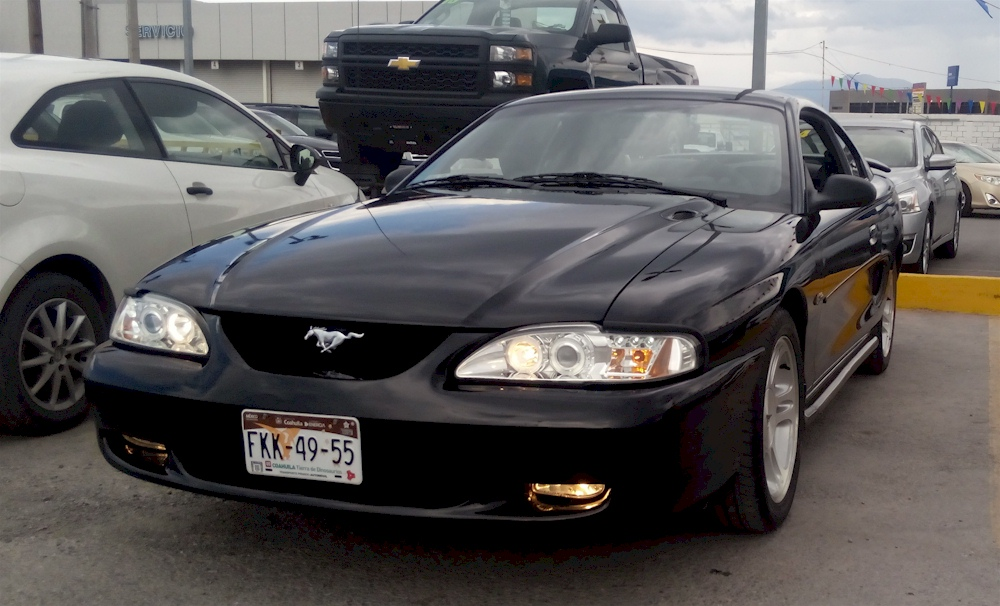 Black 1998 Ford Mustang GT Coupe - MustangAttitude.com ...