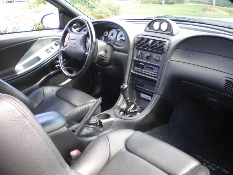 Silver 1998 Saleen S351 Ford Mustang Coupe