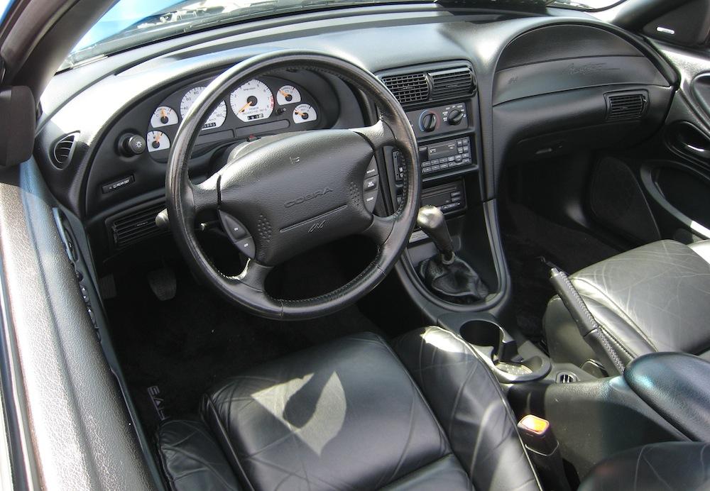 Bright Atlantic Blue 1998 Saleen S281 Cobra Ford Mustang
