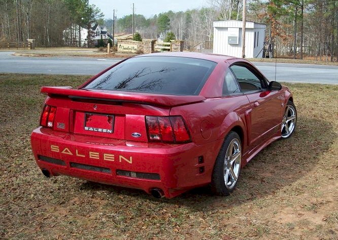 laser red 1999 saleen s351 ford mustang coupe photo detail. Black Bedroom Furniture Sets. Home Design Ideas