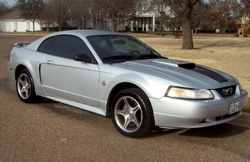 Silver 1999 Mustang GT