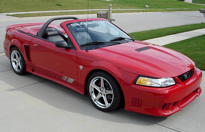 Performance Red 99 Saleen S281 Convertible