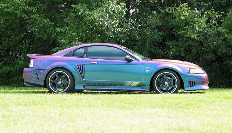 extreme rainbow 1999 saleen s281 sc ford mustang coupe photo detail. Black Bedroom Furniture Sets. Home Design Ideas