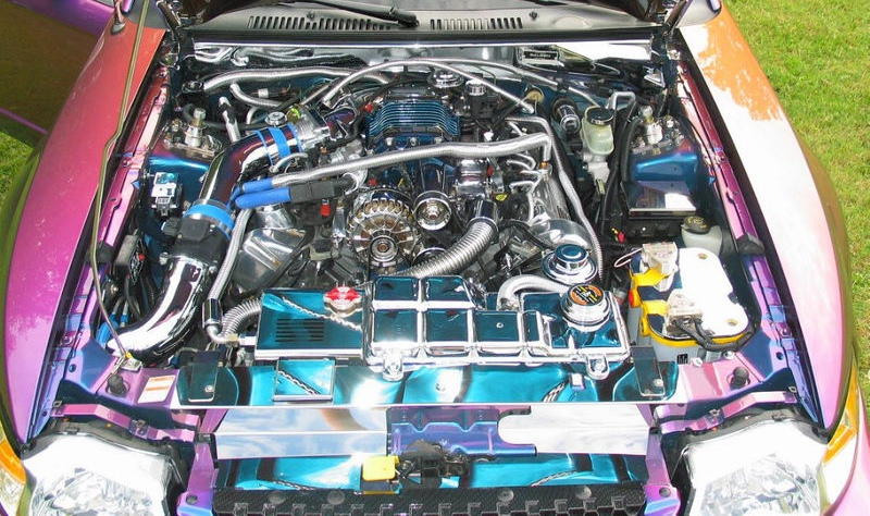 1999 Saleen Engine