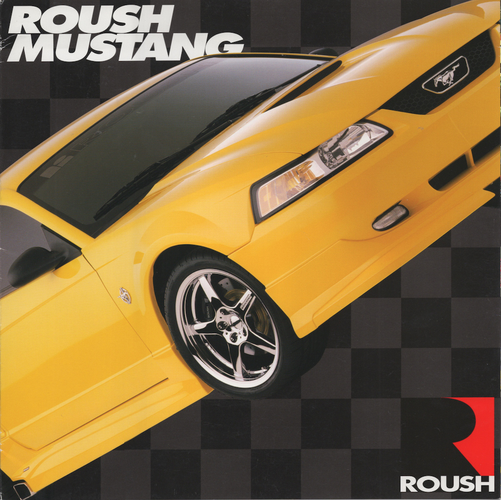 Supercharged Mustang Yellow: 1999 Roush Mustang