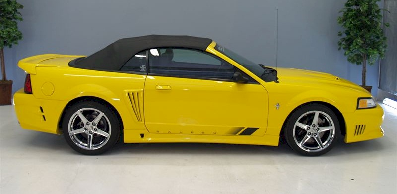 speedlab yellow 2000 saleen s281 sc ford mustang. Black Bedroom Furniture Sets. Home Design Ideas