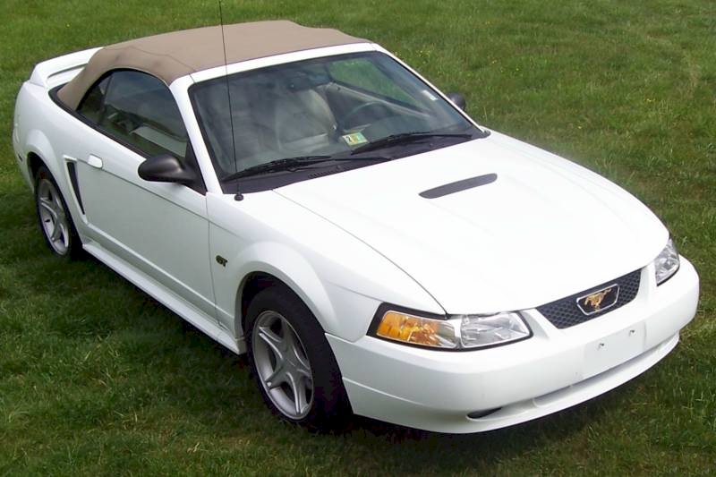 2000 Ford Mustang Convertible Top