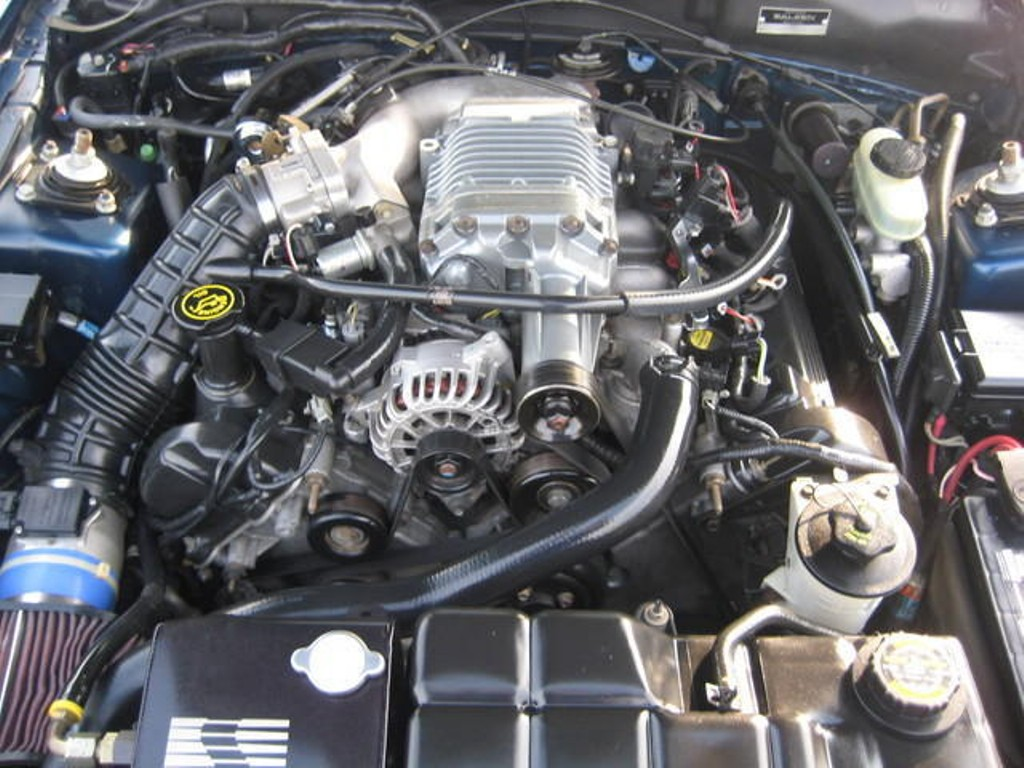 4 6l v8 engine with aftermarket supercharger