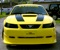 Zinc Yellow 2000 Steeda modified Mustang GT Feature Coupe