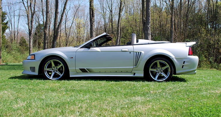 silver 2000 saleen s281 sc ford mustang convertible. Black Bedroom Furniture Sets. Home Design Ideas