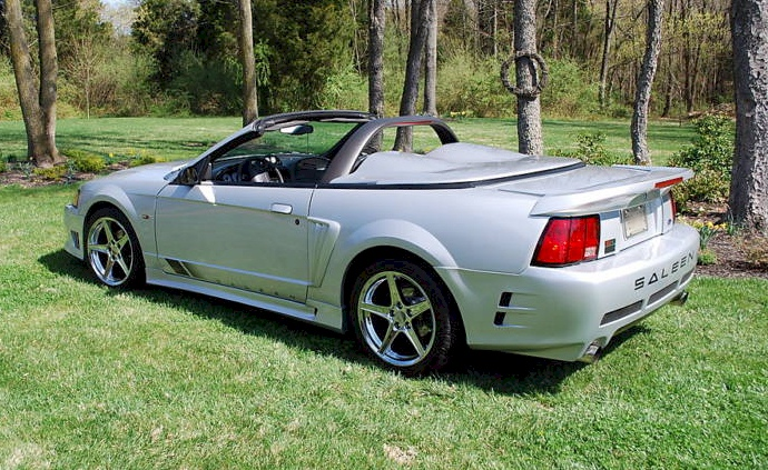 silver 2000 saleen s281 sc ford mustang convertible photo detail. Black Bedroom Furniture Sets. Home Design Ideas