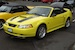 Spring Feature Zinc Yellow 2000 Mustang GT Convertible