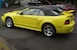 Spring Feature Zinc Yellow '00 Mustang GT Convertible