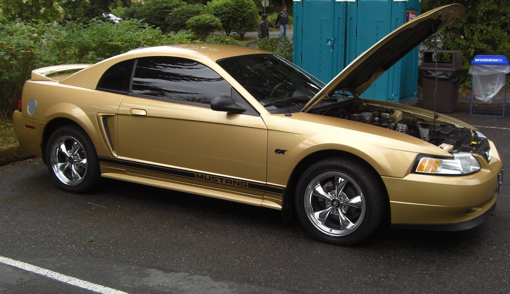 Bellevue Ford Sunburst Gold 2000 Ford Mustang GT Coupe - MustangAttitude ...