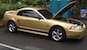 Sunburst Gold 2000 Mustang GT Coupe