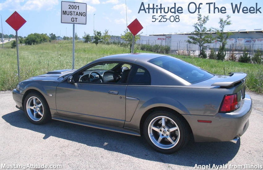 mineral gray 2001 ford mustang gt coupe mustangattitude. Black Bedroom Furniture Sets. Home Design Ideas