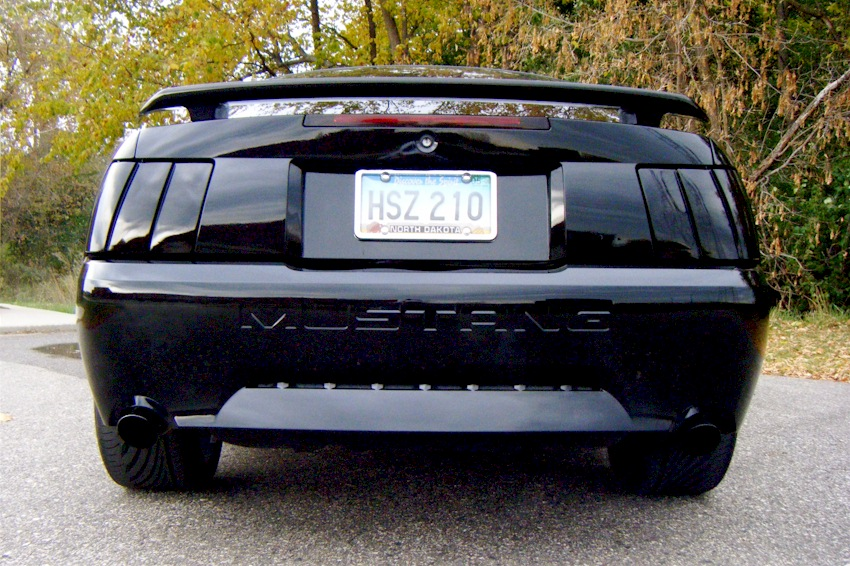 Black 2001 Mustang Gt Coupe