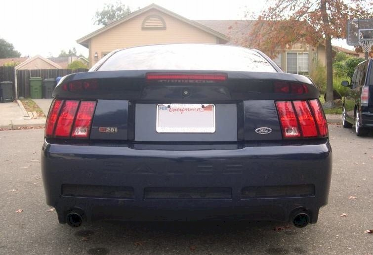 True Blue 2001 Mustang Saleen