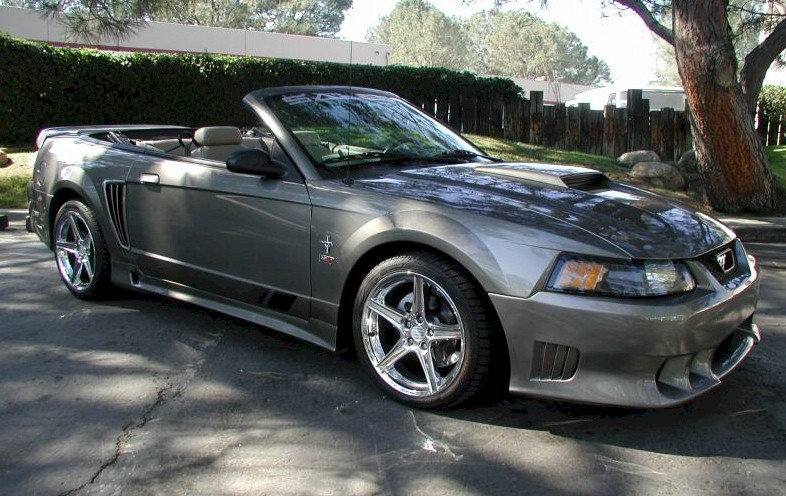 mineral gray 2001 saleen s281 sc ford mustang convertible photo detail. Black Bedroom Furniture Sets. Home Design Ideas