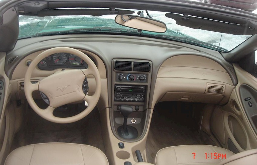 Related Keywords Suggestions For 2001 Mustang Interior