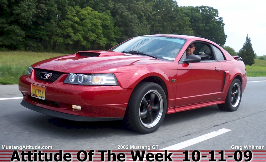 Laser Red 2002 Mustang GT