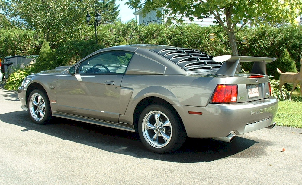 mineral gray 2002 ford mustang gt coupe mustangattitude