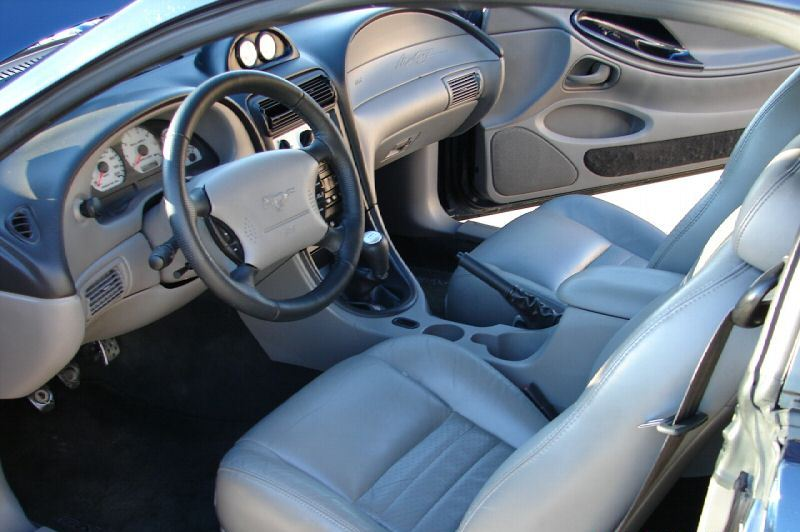 Interior 2002 Mustang Saleen S281SC Coupe