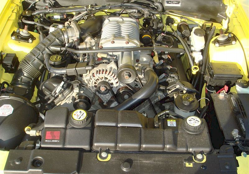 2002 Saleen SuperCharged Engine