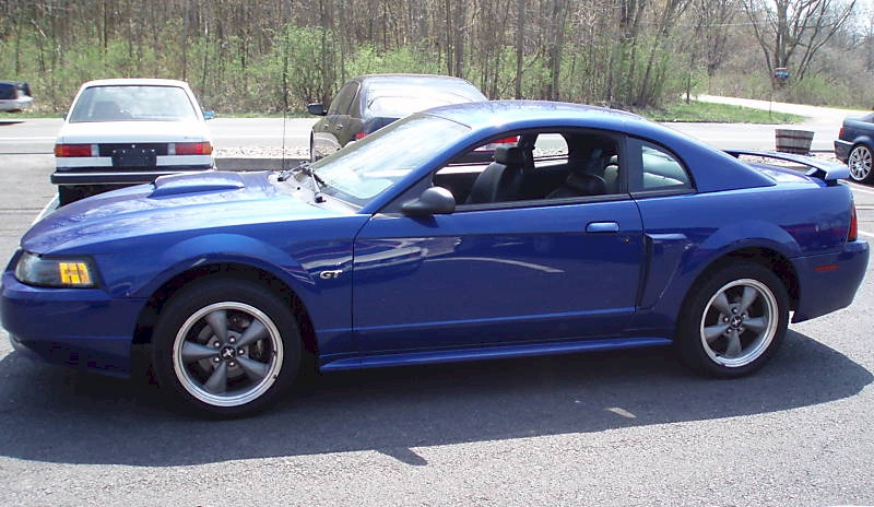 Sonic Blue 2002 Ford Mustang GT Coupe - MustangAttitude ...