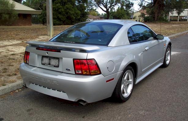 Satin Silver 2002 Cobra Coupe