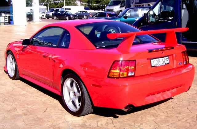 Performance Red 02 Cobra Coupe