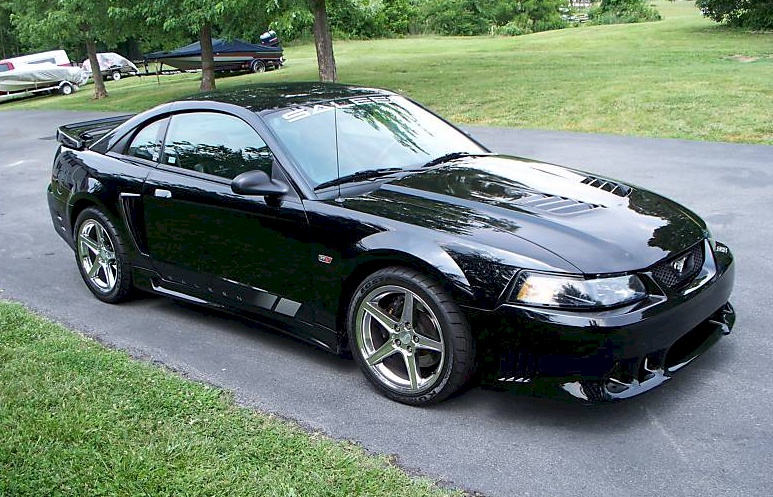 black 2002 saleen s281 e ford mustang coupe photo detail. Black Bedroom Furniture Sets. Home Design Ideas