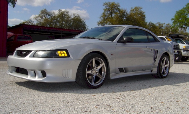 Satin Silver 2002 Saleen S281 Sc Ford Mustang Coupe