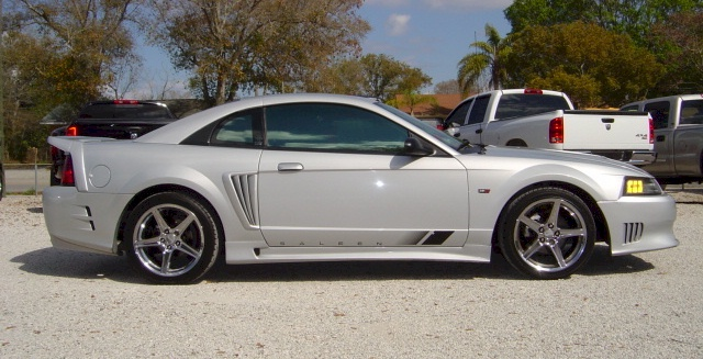 satin silver 2002 saleen s281 sc ford mustang coupe photo detail. Black Bedroom Furniture Sets. Home Design Ideas