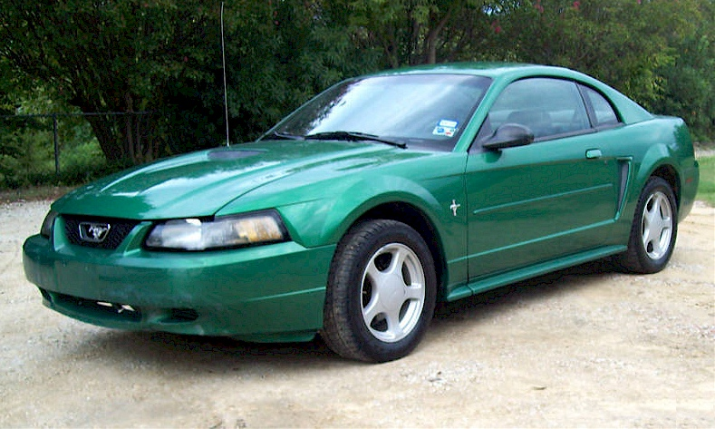 Electric Green 2002 Mustang Coupe
