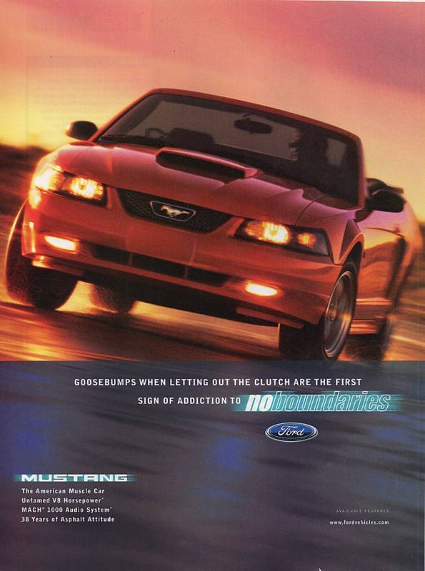2002 Mustang Ad