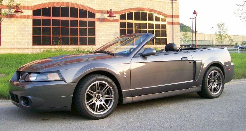 Dark Shadow Gray 2003 Ford Mustang