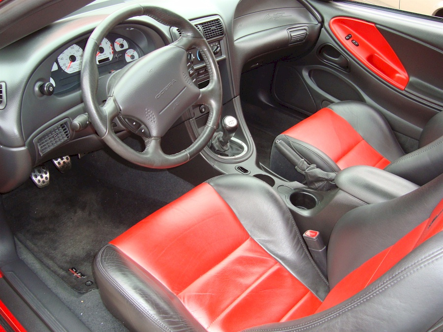 Torch Red 2003 Ford Mustang Svt Cobra 10th Anniversary