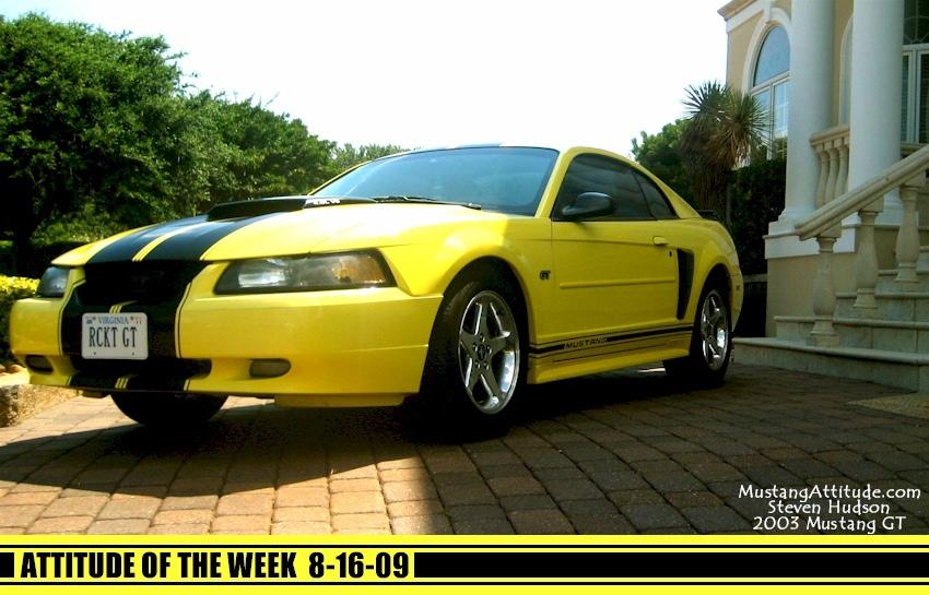 Zinc Yellow 2003 Ford Mustang Gt Coupe Mustangattitude